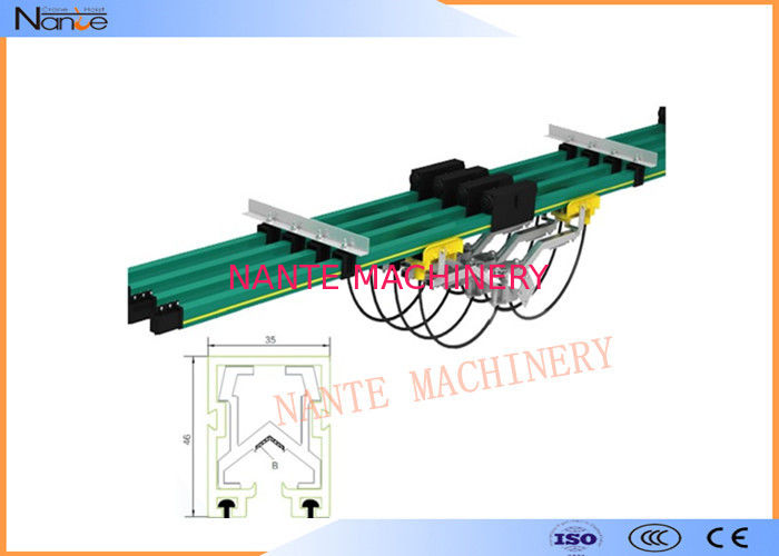 Shrouded Bus Bar Crane Conductor Bar Class B1 No Flaming Particles